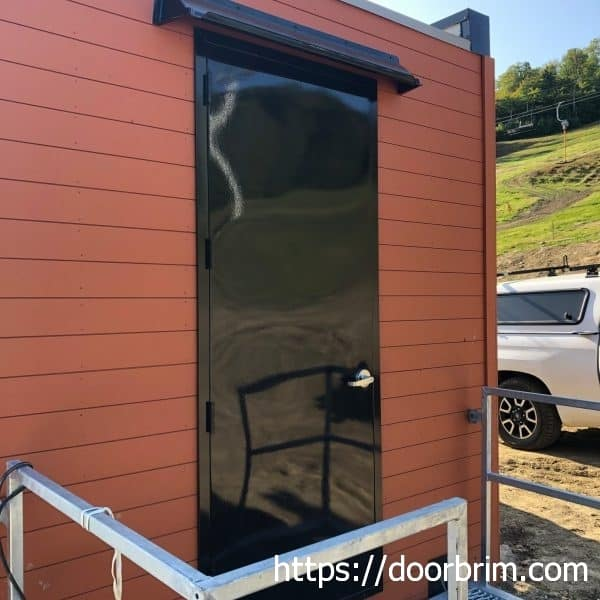 DOORBRIM entrance rain deflector