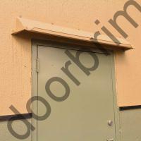 DOORBRIM Awning on Tilt Concrete