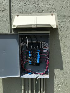 Electric Circuit Panel Protection
