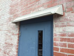 Door Canopy Affordable Solution Stops Leaks Amp Dripping