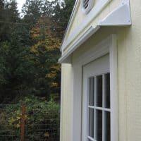 Garden Shed Door Drip Edge
