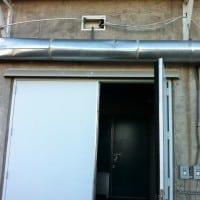 Triple Door Canopy 124 Inches Wide